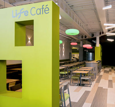 Marmoleum Modular Serves up Tasteful Flooring Solution for Life Café