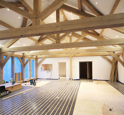 Omnie Renewable Heating Selected for Stylish New Sparkwell Church Hall