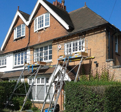 Easi-Dec Roofline - The Alternative To Scaffolding