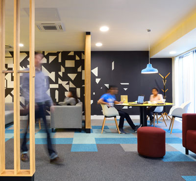Forbo's floor coverings energise new student accommodation